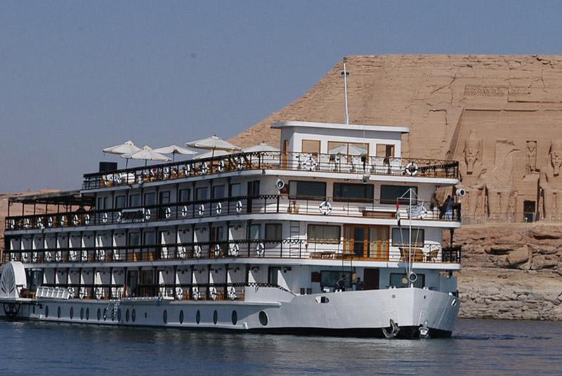 Egipto y Nubia, Abu Simbel crucero Ms Eugénie
