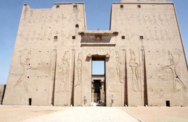 Edfu Templo entrada
