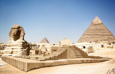 Giza esfinge-Keops