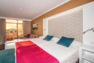 Hotel Beatriz playa habitación
