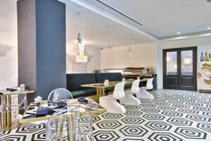 Área de desayuno del Hotel Holm Spa