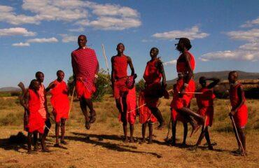 Kenia Tribu Masai Mara