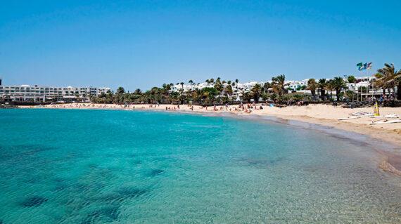 Lanzarote - Playa de las Cucharas