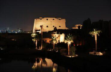 Luxor Nilo Noche
