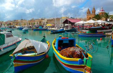 Malta La Valeta Puerto