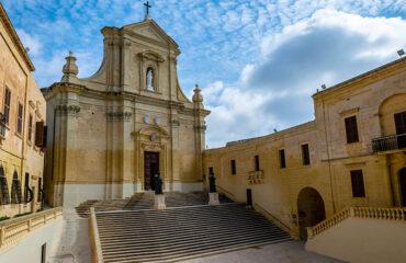 Malta Iglesia en Gozo