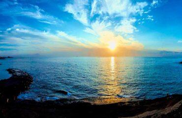 Tenerife puesta de sol