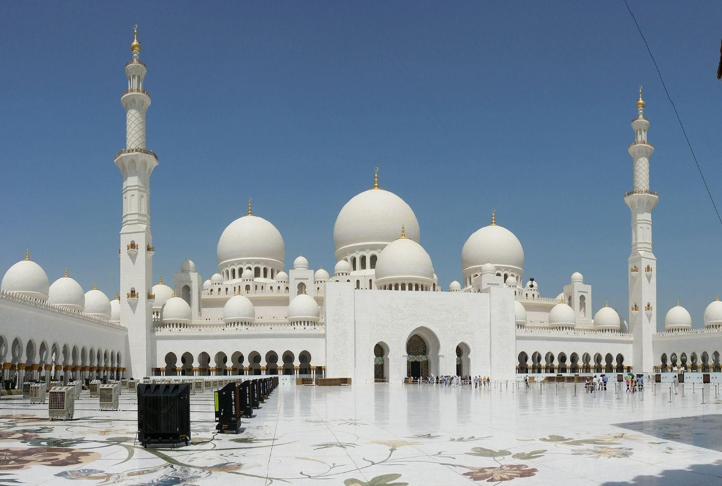 Palacio blanco de Abu-Dhabi
