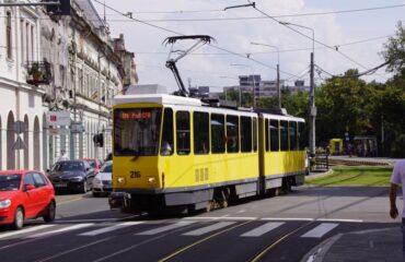 Tranvía en Bucarest
