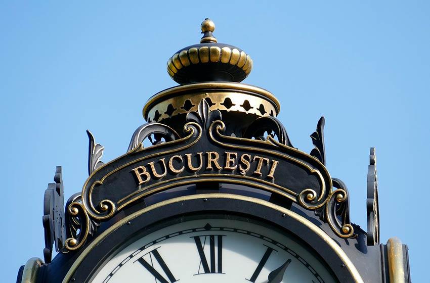 Reloj de la Torre en Bucarest