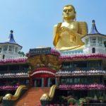 Templo de Oro en Dambulla. Oferta viaje cultural a Sri Lanka.