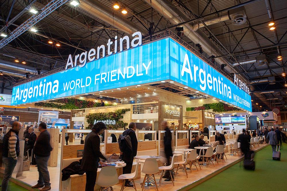 Stand de Fitur en Argentina
