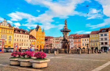 plaza de  Ceske Budojovice