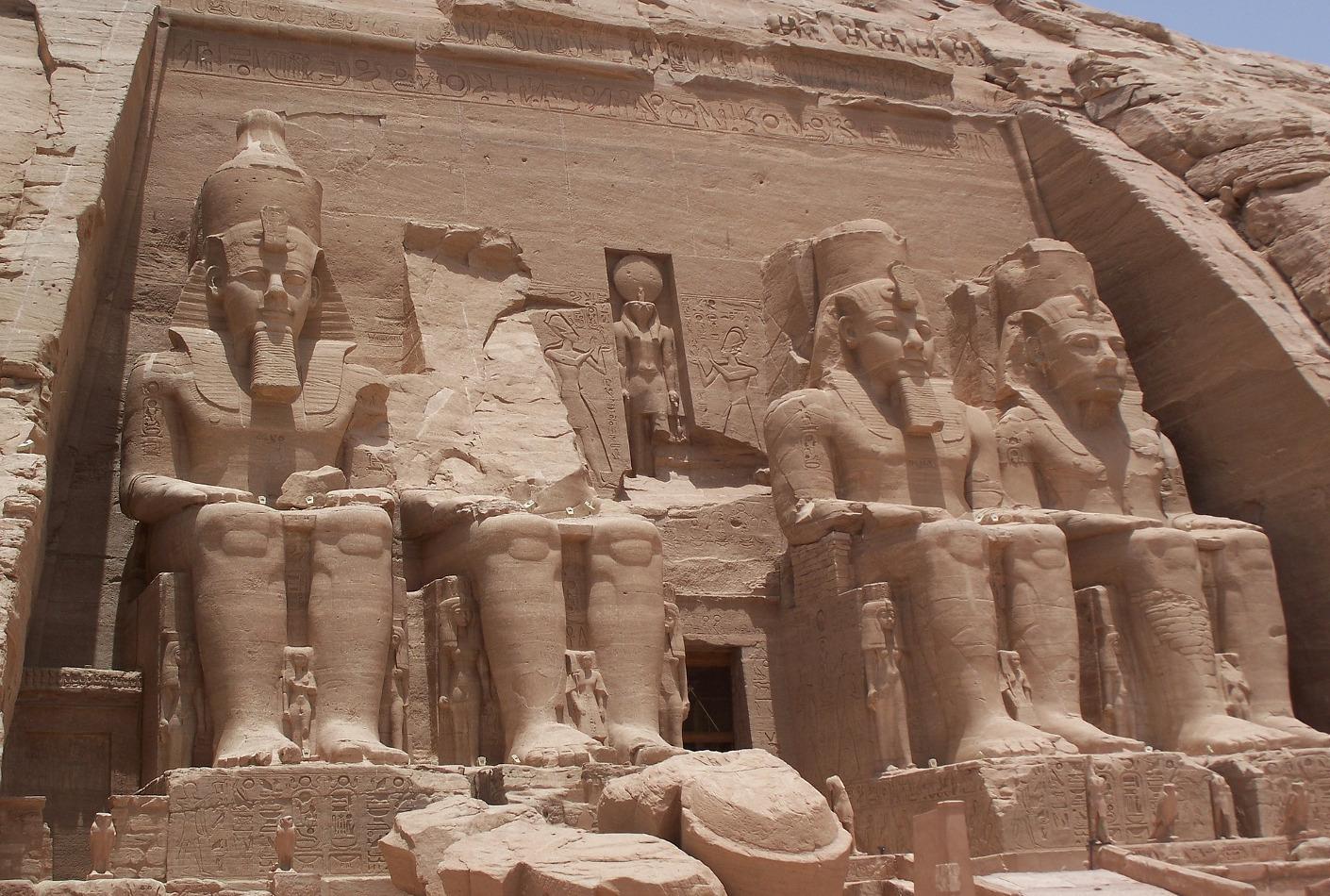 Tumba de Ramses II en Abu Simbel, Egipto. Superoferta para conocer Abu Simbel.