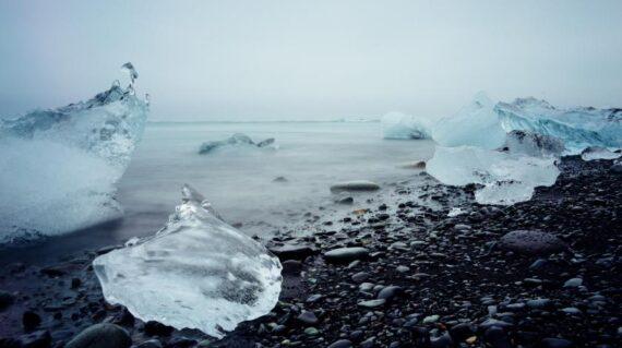 Icebergs y glaciares