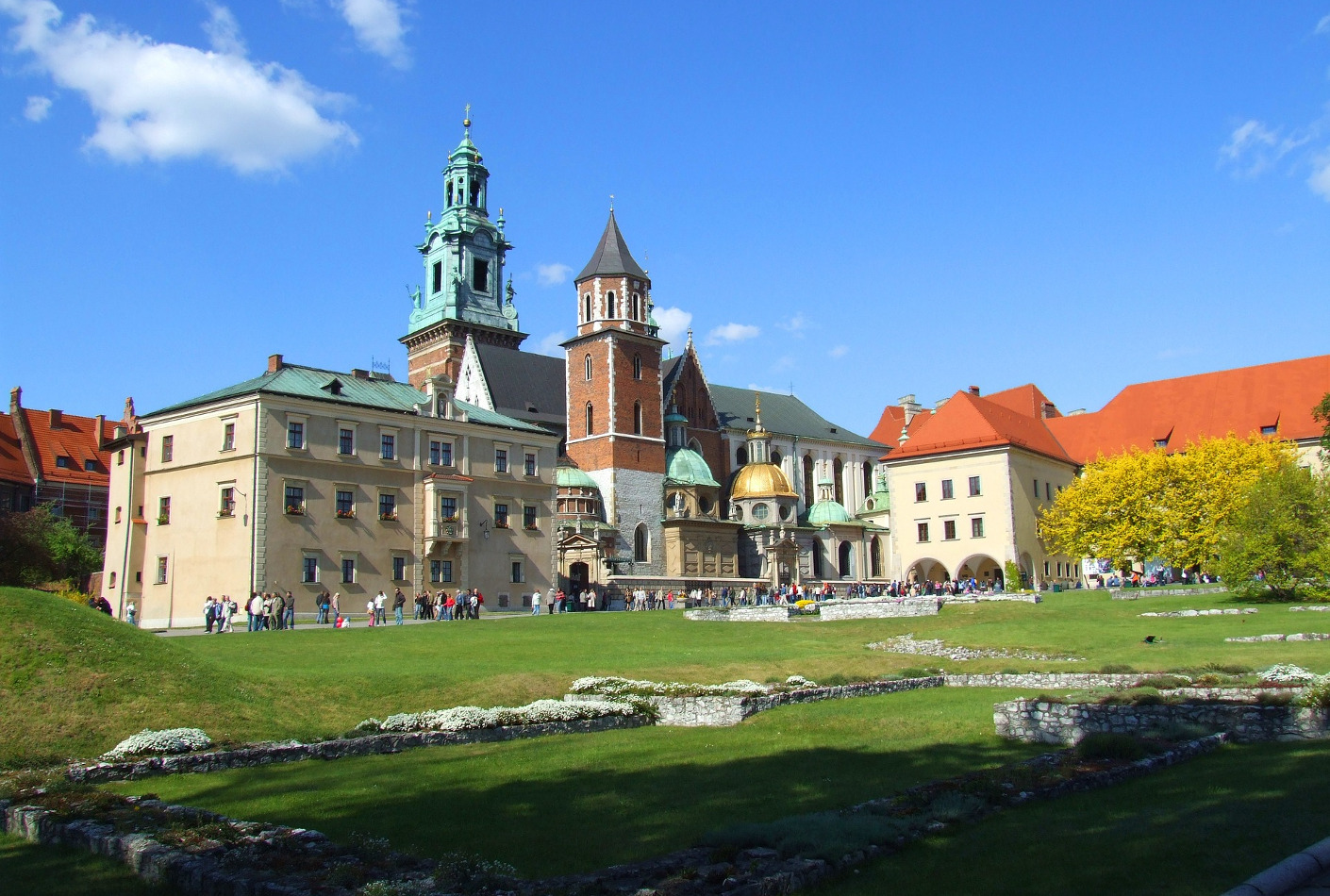 Colina Wawel, Cracovia. Increible oferta para viajar a Cracovia.