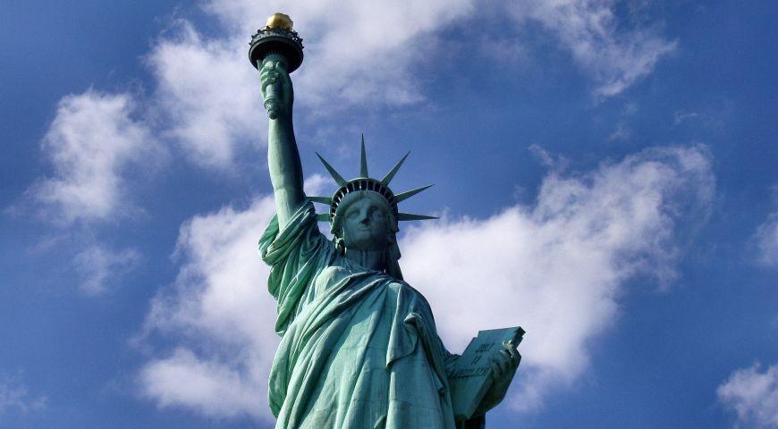 Estatua de la Libertad de cerca