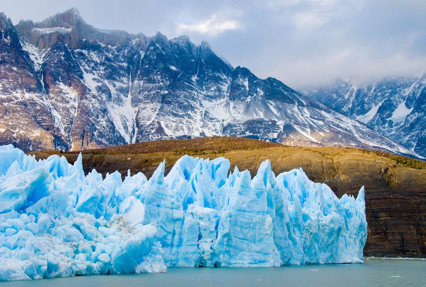 Glaciar en Chile. Oferta viaje a la Patagonia.