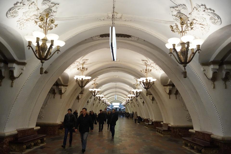 El metro de Moscu