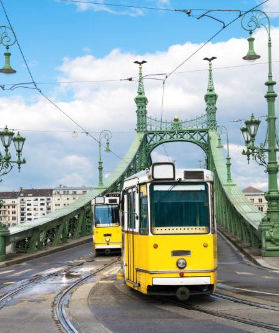 Budapest-tranvias