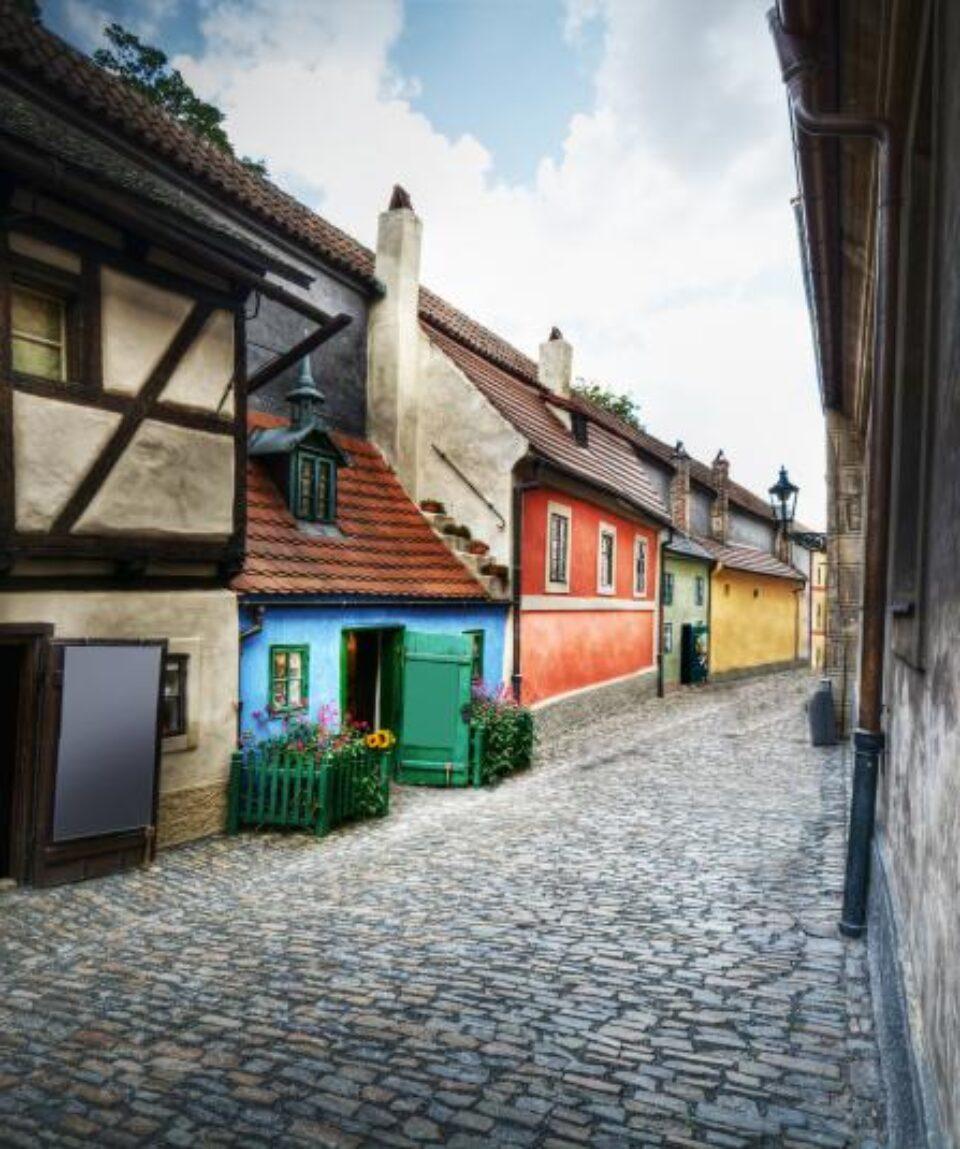 Praga-Calle del Oro