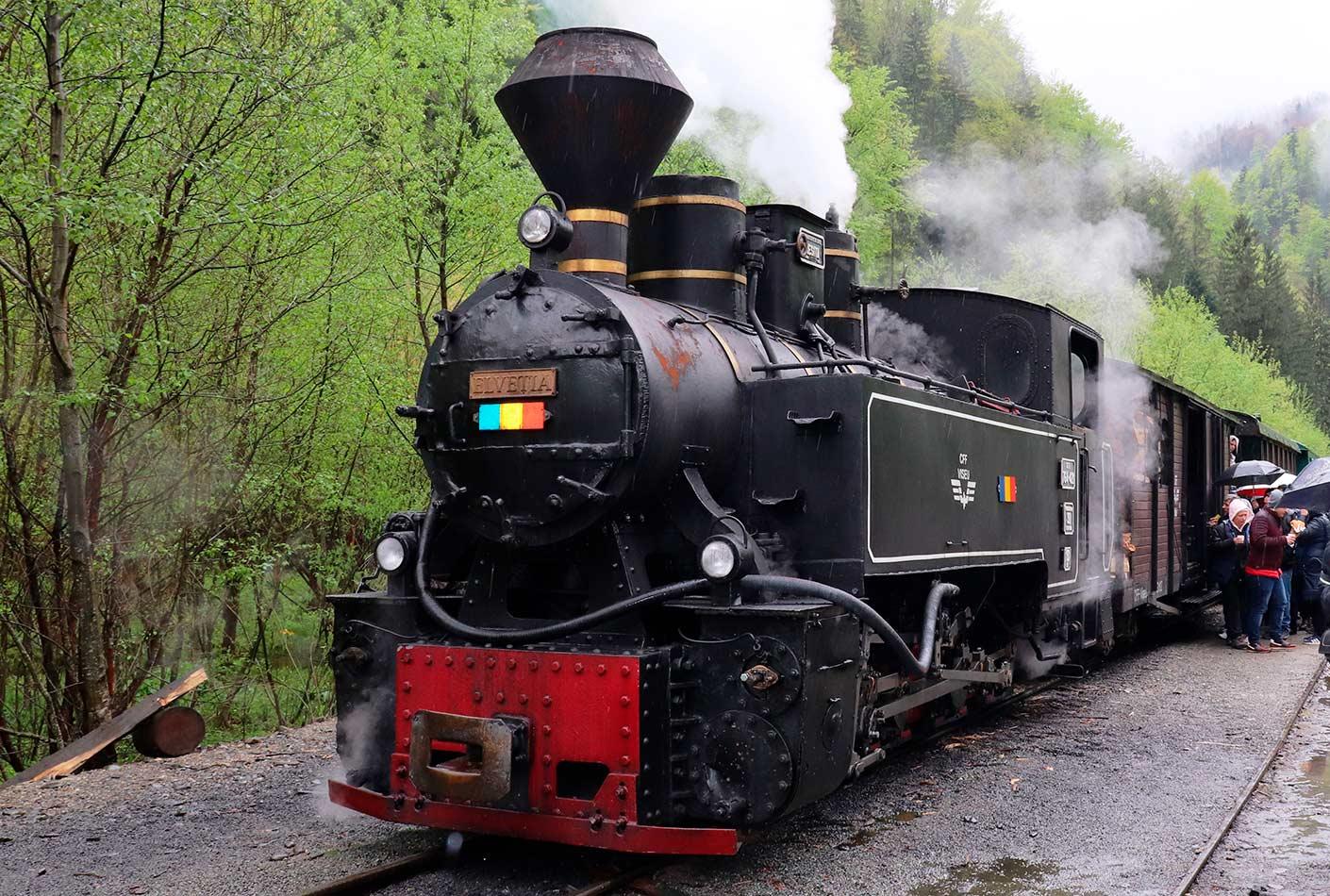 Locomotoras a Vapor Transilvania