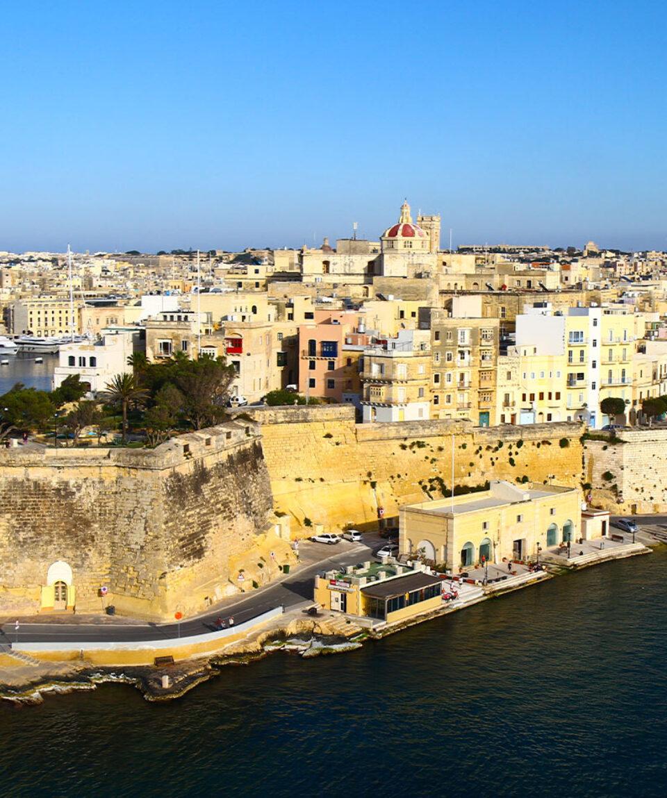 Malta Fortificación